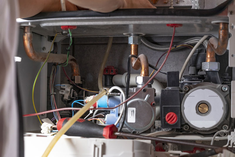 clean furnace components